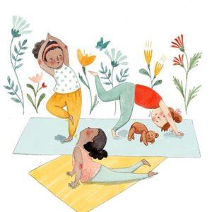 yoga, ludoteca, incontri